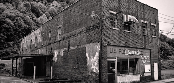 Photo of the Old Post Office in Iaeger, West Virginia, by Pete Zarria/FlickrCC